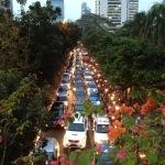 1km移動に30分以上、ジャカルタの渋滞について考える