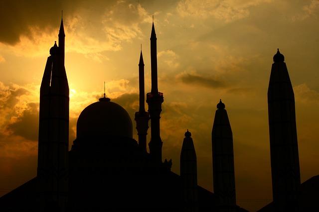 インドネシアのモスク